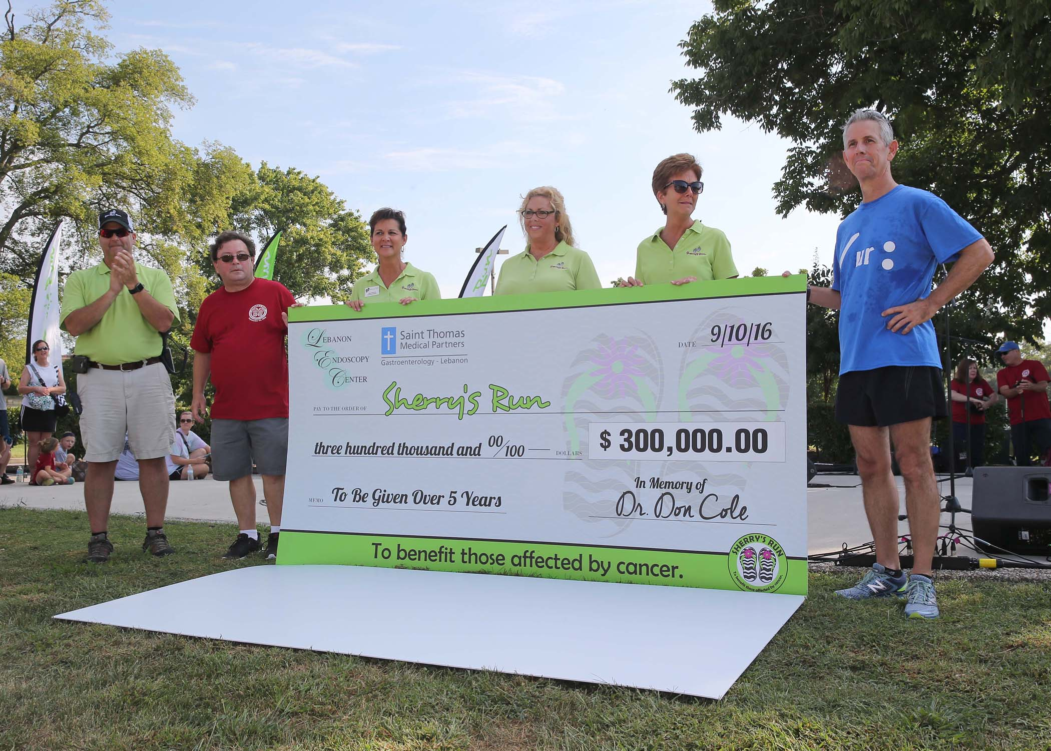 Unprecedented Gift At 13th Annual Sherry's Run