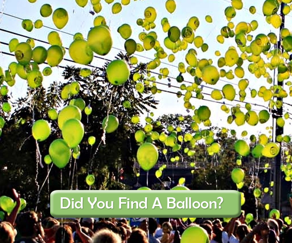 Did You Find A Balloon?